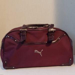 Puma purple handbag purse